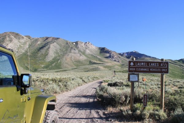 Endless Off-roading around mammoth area
