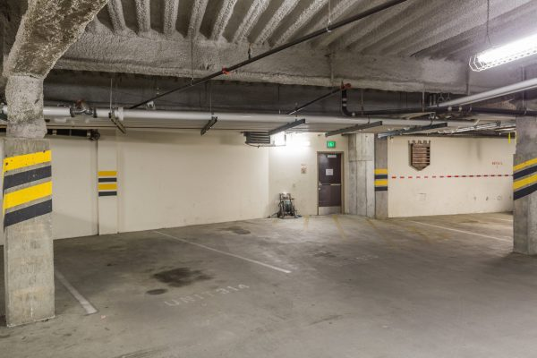 Your dedicated spaces in our parking structure