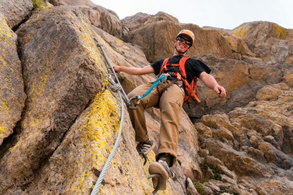 Guided Rock Climbing on Mammoth Mountain
